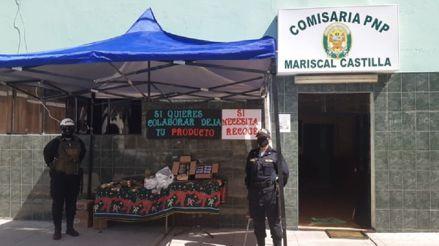 Arequipa: Policías recolectan alimentos para familias que no tienen dinero