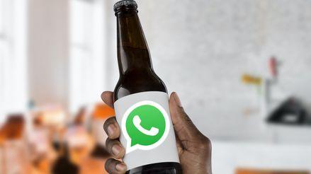 Por supuesto que hay una estafa que promete cervezas gratis en WhatsApp