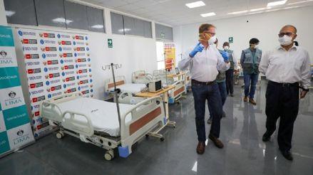 Municipalidad de Lima entrega equipos médicos al hospital Hipólito Unanue para pacientes con COVID-19