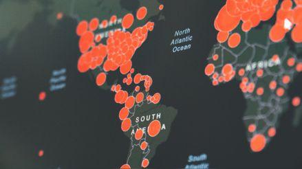 Más de 5,5 millones de casos hasta mayo: Mapas interactivos muestran las cifras del coronavirus en tiempo real