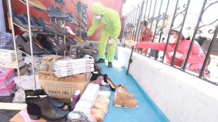 Arequipa: Fabricantes de zapatos cambian sus productos con alimentos por falta de dinero