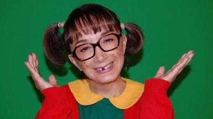 """La Chilindrina causa furor en redes sociales al recrear una escena de """"El Chavo del 8"""""""