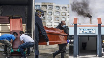 Víctimas de la COVID: así es el arduo trabajo para las cremaciones en el cementerio El Ángel [FOTOS]