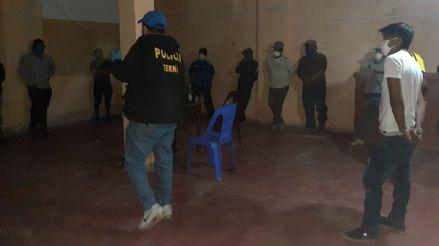 Arequipa: Intervienen a 29 ciudadanos en cantinas por no respetar el estado de emergencia