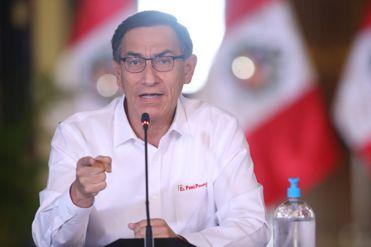 Coronavirus | COVID-19 | Presidente Vizcarra ofrece Mensaje a la Nación por Estado de Emergencia