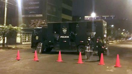 Gamarra amaneció con fuerte contingente policial y militar tras caos de ayer