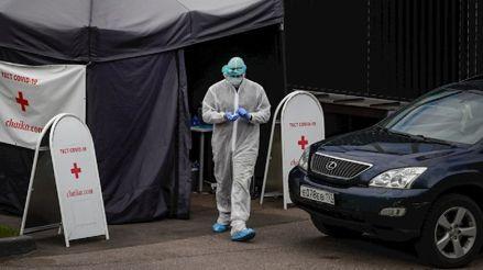 Rusia registró un nuevo récord de muertes por coronavirus en 24 horas