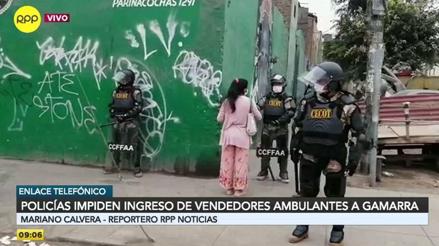 Policías y militares toman el control de Gamarra: cerco perimétrico llega hasta la avenida Grau [VIDEO]