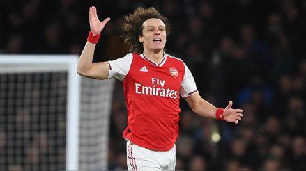 La crisis del coronavirus trastoca el futuro de David Luiz en el Arsenal