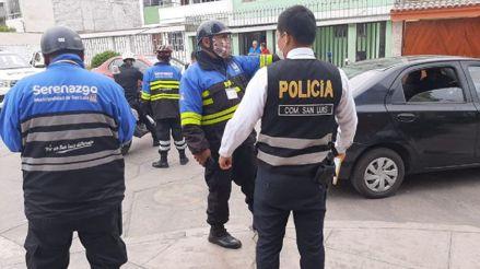 Policía capturó a un presunto delincuente tras una balacera en San Luis