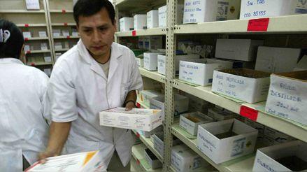 Gobierno emitirá medidas para que farmacias de hospitales cuenten con stock de medicinas genéricas