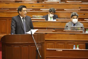 Minuto a minuto | Vicente Zeballos se presenta ante el pleno del Congreso por el voto de confianza | Últimas noticias EN VIVO | Estado de emergencia