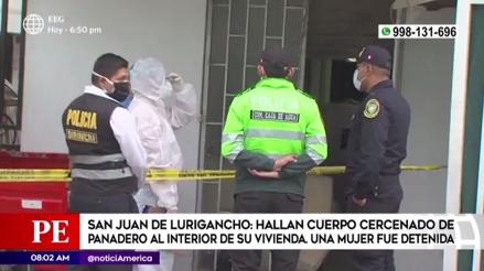 Hallan el cuerpo cercenado de un hombre en una casa de San Juan de Lurigancho [VIDEO]