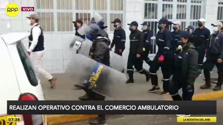 La Victoria: realizan operativo contra los ambulantes de la avenida Grau [VIDEO]