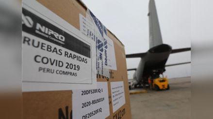 ¿Cómo se están realizando las compras de pruebas rápidas y moleculares en el Perú?