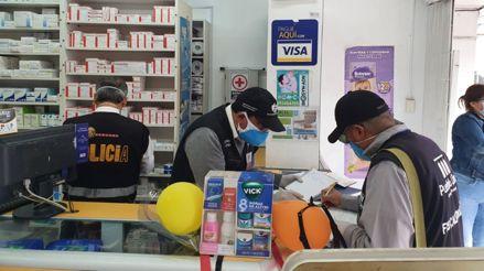 Pueblo Libre: clausuran 3 farmacias que vendían medicamentos usados contra la COVID-19 de dudosa procedencia