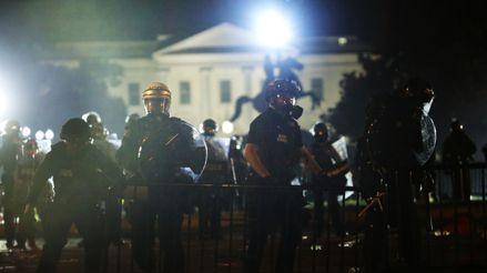 Estados Unidos: Enfrentamientos contra la policía en otra jornada de protestas contra el racismo [FOTOS]