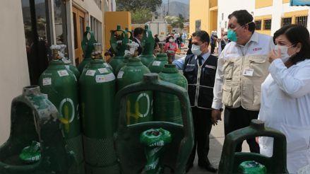 Colegio Médico del Perú: Escasez de oxígeno para pacientes COVID-19