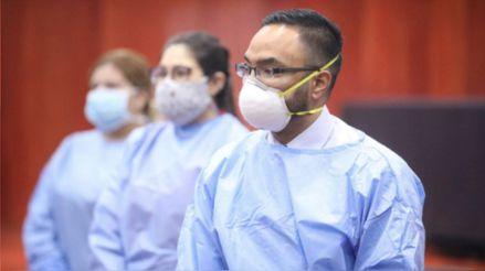 Hasta la fecha han fallecido 45 doctores a causa de la COVID-19, informó el Colegio Médico del Perú