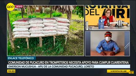 Loreto: Cómo la COVID-19 llegó a la comunidad de Pucacuro