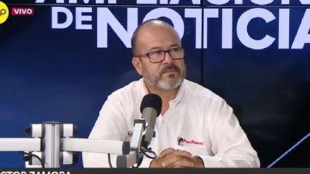 Ministro Zamora sobre el tráfico de oxígeno: