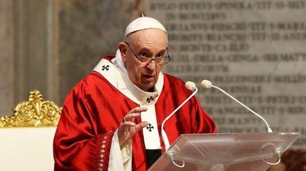 El papa Francisco lanzó un fondo para apoyar a los afectados por la crisis de la COVID-19