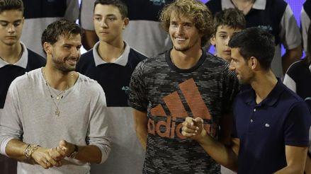 Novak Djokovic estuvo en contacto con un positivo a coronavirus