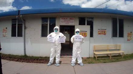 Cusco: Atienden a más de 800 pacientes sospechosos con la COVID-19 en Hospital Regional