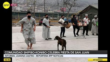 Comunidad Shipibo-konibo de Cantagallo celebra en confinamiento la Fiesta de San Juan [VIDEO]
