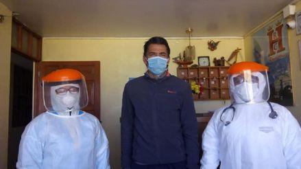 Juan Carlos Bazalar venció al coronavirus tras pasar 34 días aislado en Juliaca