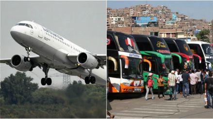 ¿Cuándo inician los vuelos nacionales y los viajes interprovinciales?, esto dijo el MTC