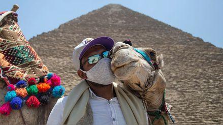 Egipto reabre las pirámides y sus museos a turistas tras 100 días de cierre por la pandemia [FOTOS]