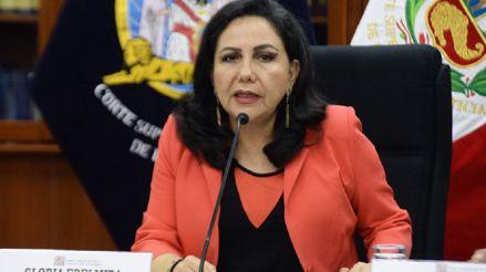 Gloria Montenegro: Es preocupante que el Congreso haya cambiado cinco artículos de la Constitución en tres horas y sin debate