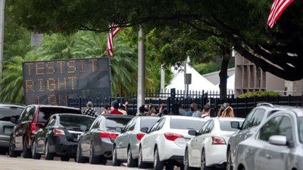 Estados Unidos: 16 de cada 100 personas dan positivo ahora a la COVID-19 en Florida