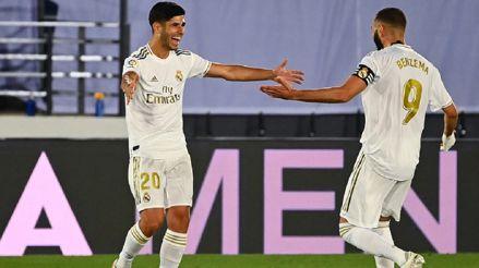 Real Madrid venció 2-0 a Deportivo Alavés y se acerca al título de LaLiga Santander