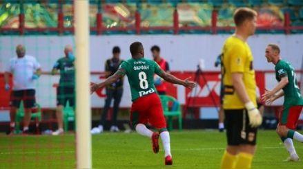 ¡Regresó con gol! Jefferson Farfán anotó con Lokomotiv tras volver a jugar después de un año