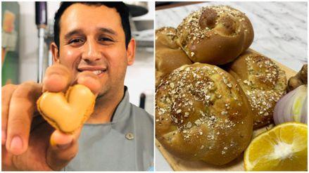 Joven panadero desarrolla un producto rico en vitamina C para entregarlo a familias vulnerables