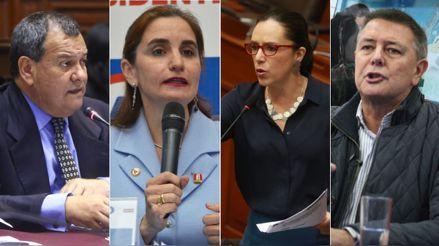 Fiscalía abrió investigación preliminar a Marisa Glave, Anel Townsend, Jorge Nieto y Jaime Salinas