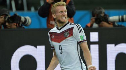 André Schürrle, campeón mundial con Alemania, anunció su retiro del fútbol a los 29 años