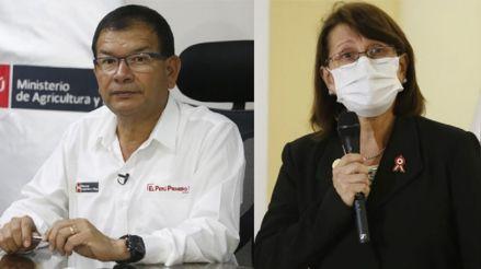 Ministros Jorge Montenegro y Pilar Mazzetti hablan sobre crisis sanitaria en Arequipa por la COVID-19