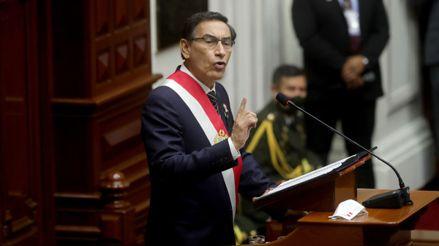 Politólogos analizan el mensaje a la Nación de Martín Vizcarra