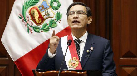 Escucha las frases más destacadas del discurso de Martín Vizcarra por Fiestas Patrias