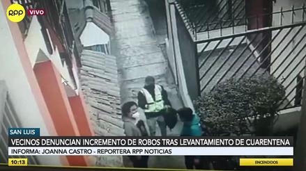 Inseguridad en San Luis: reportan asaltos a plena luz del día [VIDEO]