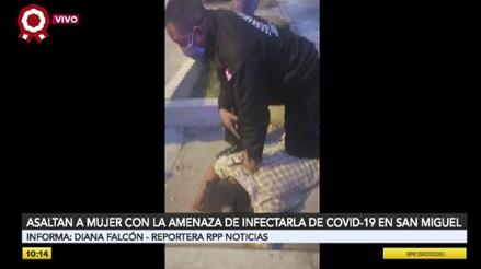 San Miguel: Ladrón amenaza con contagiar de coronavirus a serenos para evitar intervención [VIDEO]
