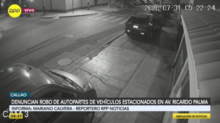 """""""Me desmantelaron todo el auto"""": vecinos del Callao denuncian aumento de robo de autopartes"""