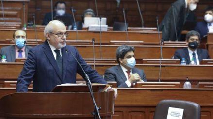 Congreso no le dio el voto de confianza al Gabinete presidido por Pedro Cateriano tras maratónica sesión