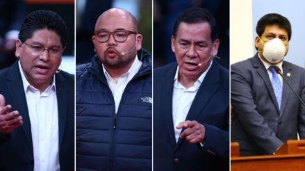Escucha las reacciones de estos congresistas tras la denegación de confianza al Gabinete de Cateriano