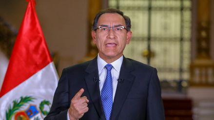 EN VIVO Presidente Martín Vizcarra: