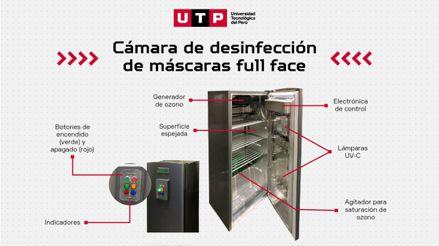 ¡Sumando esfuerzos contra la COVID-19! Equipo de investigación de la UTP entrega cámara de desinfección de máscaras con tecnología UV-C y ozono