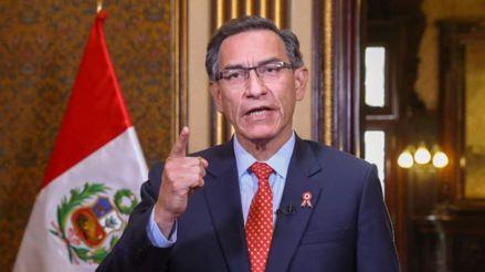 Martín Vizcarra da un mensaje a la Nación tras juramentar al nuevo Gabinete